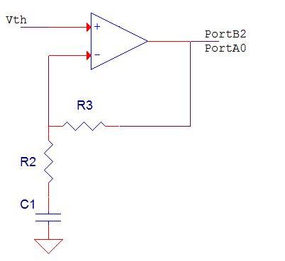 Thermistor Respiratory Monitor Using Atmega1284 Circuit