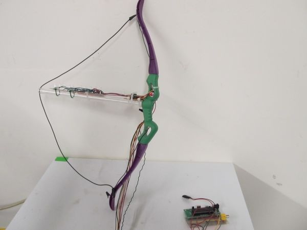 Virtual Archery Using Atmega644