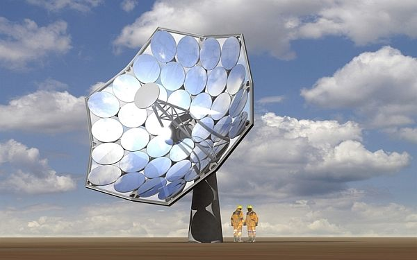 IBM 'sunflower' solar concentrator produces energy and hot water