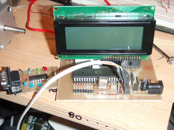 Atmega32 Development Board With LCD