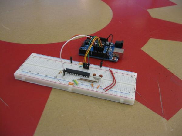Bootloading and Mounting Arduino Atmega328 - I made it at TechShop