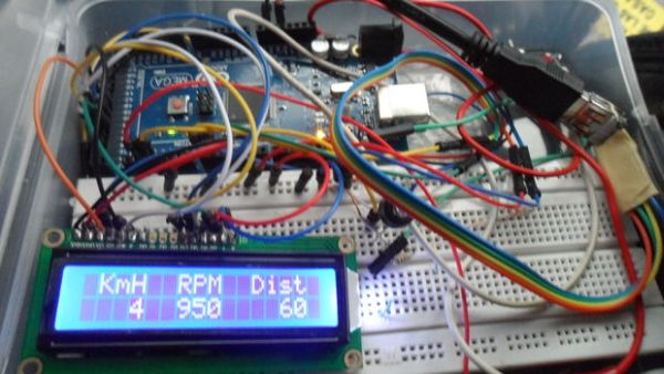 Car datta logger Using OBD II protocol