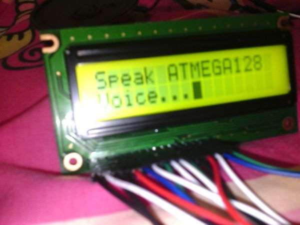 Make yourself a speaking ATMEGA128