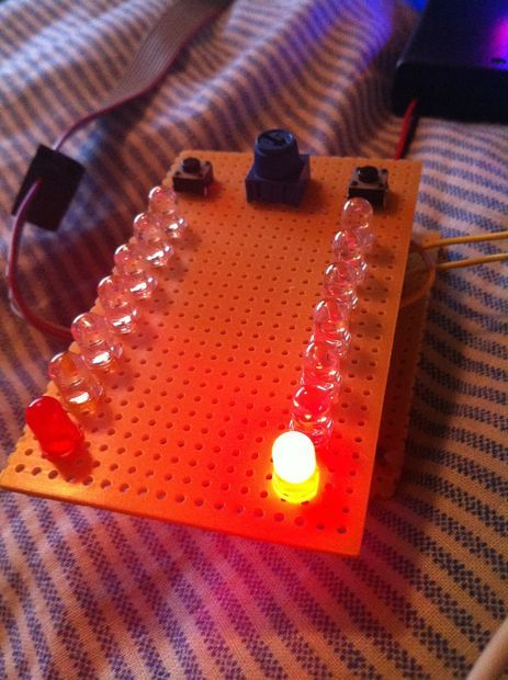 MultiFunction LED Game Using An ATmega32 Microcontroller