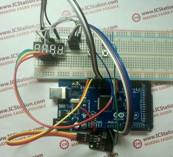 Self-setting Digital Plate Counter Based on ICStation ATMEGA2560
