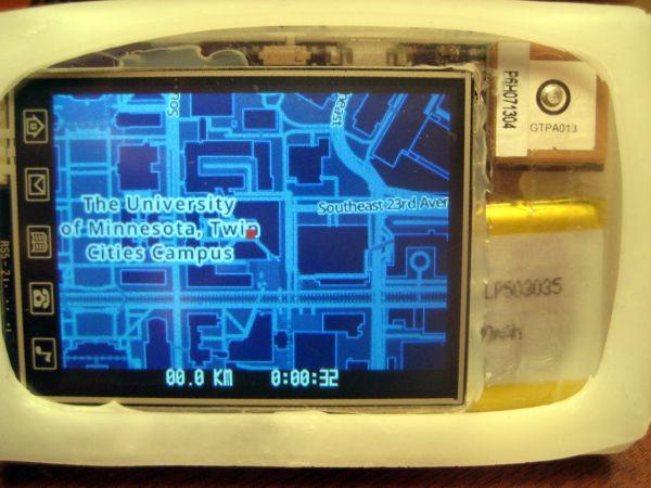 Runner's GPS build