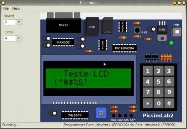 PICsim – PIC microcontroller simulator