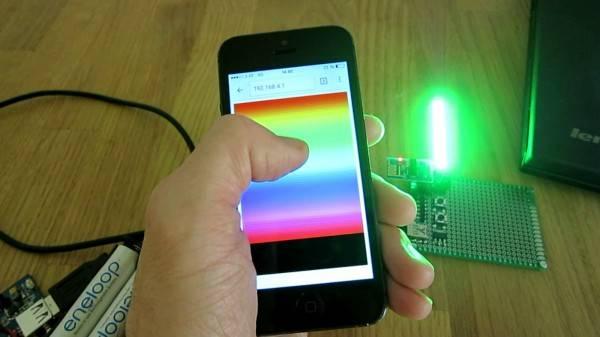 WiFi LED Light (ESP8266 + WS2812B + Lua)