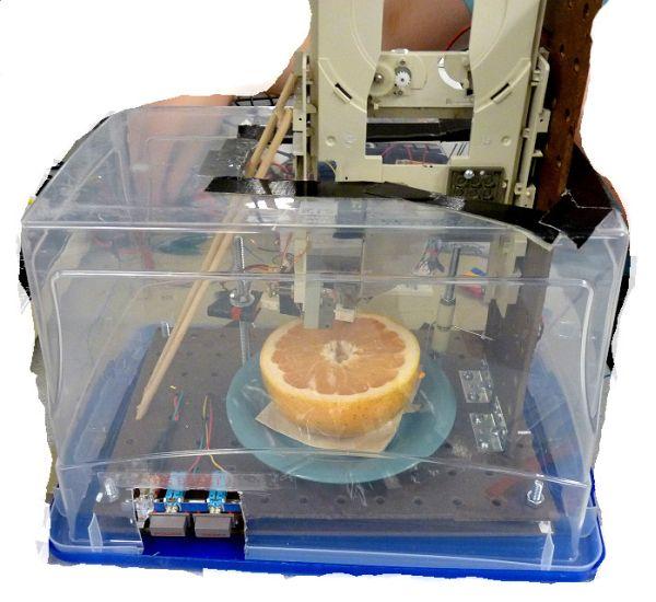 Automated grapefruit segmenter Using Atmega644