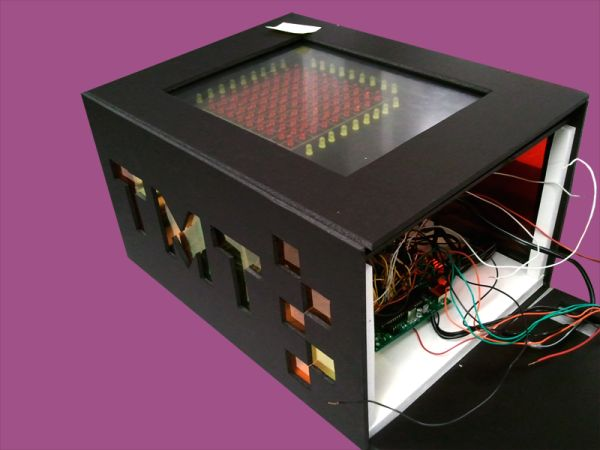 ToneMatrix Touch Sequencer Using Atmega644