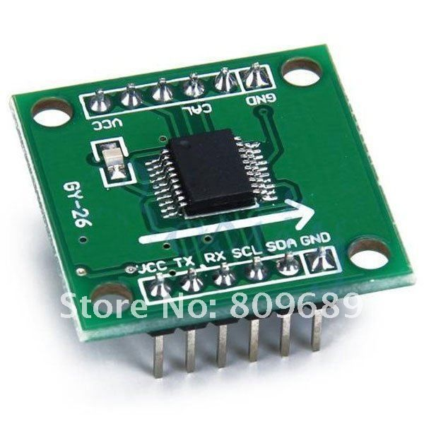 Interfacing GY 26 with atmega640