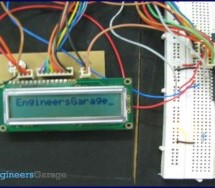 How to display text on 16×2 LCD using AVR microcontroller (ATmega16)