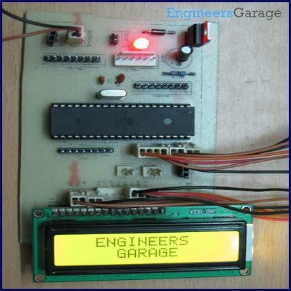 How to interface LCD in 4 bit mode with AVR microcontroller