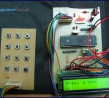How to interface keypad with AVR microcontroller (ATmega16)