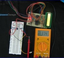 How to interface serial ADC0831 with AVR microcontroller (ATmega16)