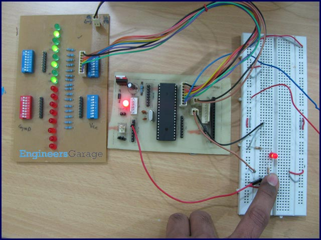 How to use External (Hardware) Interrupts of AVR Microcontroller (ATmega16)