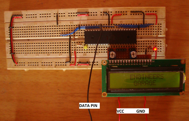 LCD Scrolling Display Module