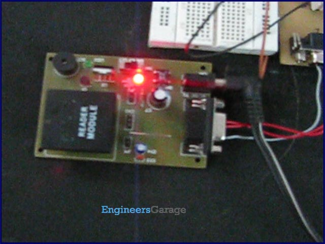 RFID interfacing with AVR microcontroller (ATmega16) using interrupts