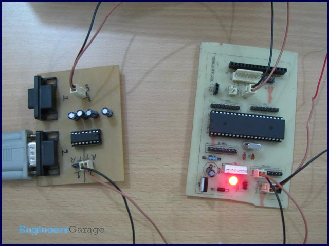 Serial communication (USART) with different frame size using AVR microcontroller