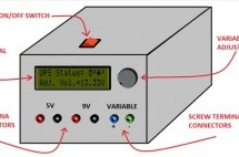 Un-interruptible Bench-top DC Power Supply With Display