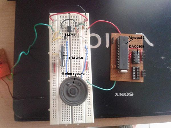 Audio Tone Generator using AVR Microcontroller