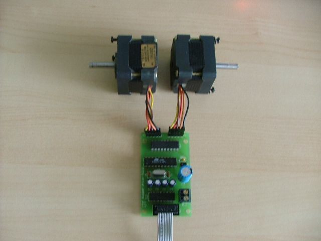 PC stepper motor driver