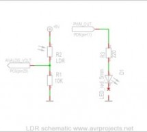 Photocell or LDR