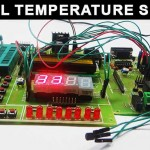 Temperature Controlled DC Fan using Microcontro