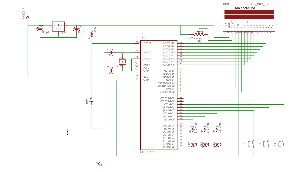 embRACE The Embedded Race schematic