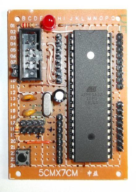 ATmega DIP40 Minimal Board