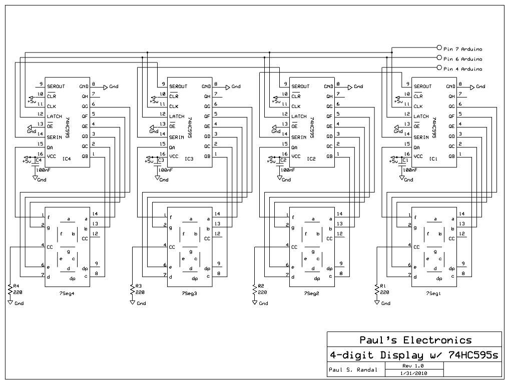Digital Wall clock Using Atmega-8 and RTC schematic