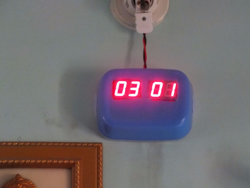 Digital Wall clock Using Atmega-8 and RTC