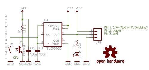 Emon-server 555 Timer as power usage sensor