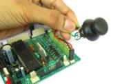 Interfacing Analog Joystick with AVR ATmega32