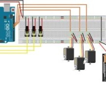 Control servo motors with potentiometers and Arduino