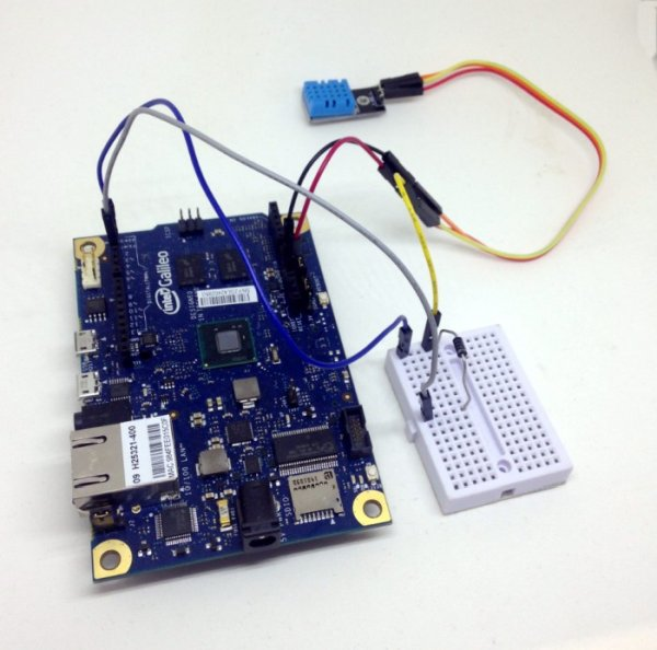 Intel Galileo Project: Simple DIY Weather Station