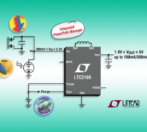 LTC3106 – 300mA Low Voltage Buck-Boost Converter with PowerPath and 1.6μA Quiescent Current