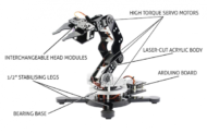 Maximo Robot Arm – for kids and even big kids