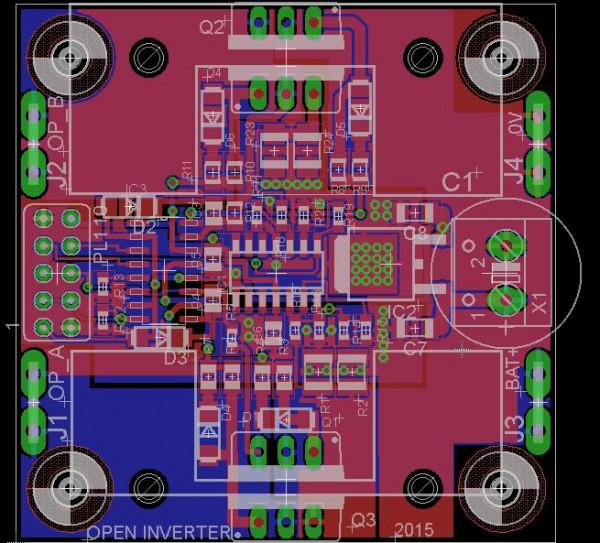 Open Inverter, an open source micro-solar inverter