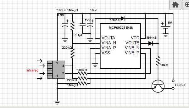 passive-infrared-detector-circuit