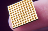 Waffle implant supplies drugs