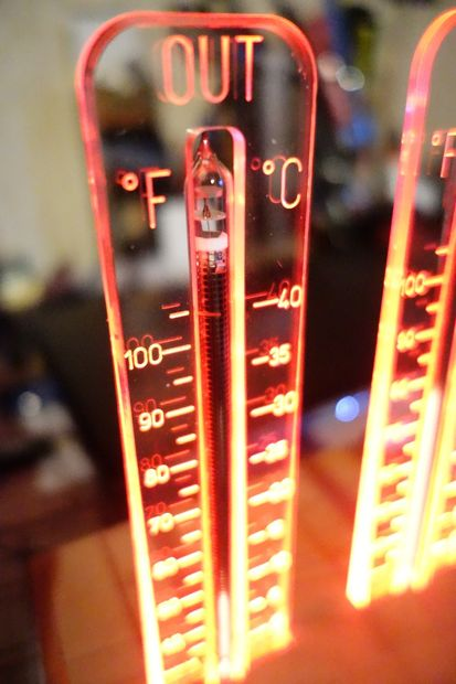 Wireless Nixie Thermometer