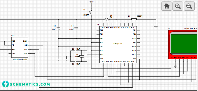 wrist-mount-digital-altimeter