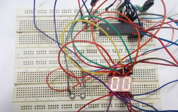0-99 Counter using AVR Microcontroller