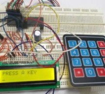 4×4 Keypad Interfacing with ATmega32 Microcontroller