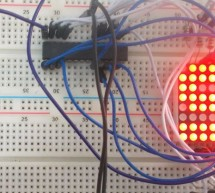 8×8 LED Matrix Interfacing with AVR Microcontroller