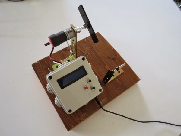 A Pickup Winding machine built on an ATmega8