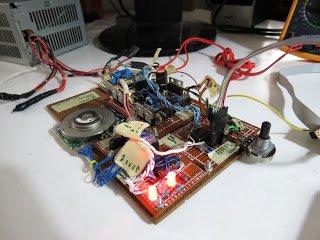 A simple brushless sensored motor driver for AVR Atmega