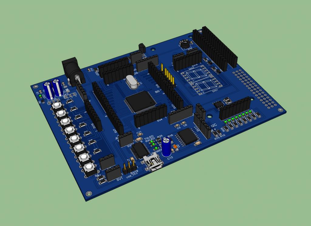 ATmega64 Development Board