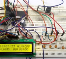 Alarm Clock using ATmega32 Microcontroller
